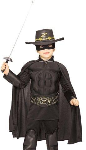 Kids Halloween NEW Boy Zorro Childrens Costume Boys Medium 5-7 years