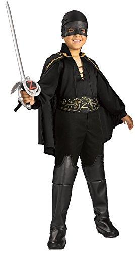 Zorro Childs Zorro Costume Medium
