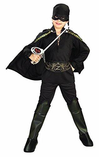 Zorro Childs Zorro Costume Medium by Rubies