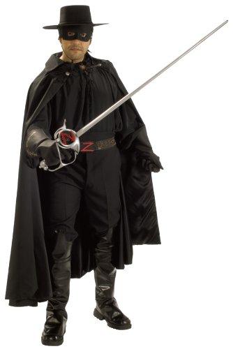 Zorro Grand Heritage Collection Deluxe Costume Black Standard