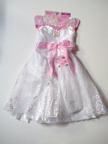 Barbie Bride Dress Costume with Veil
