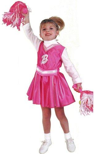 Childs Cheerleader Barbie Costume SzToddler 2-4