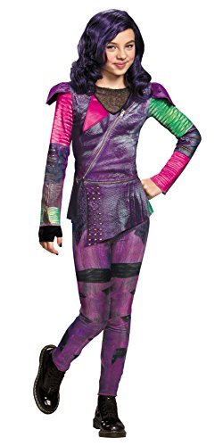 UHC Girls Mal Isle Of The Lost Disney Descendants Fancy Dress Halloween Costume M 7-8