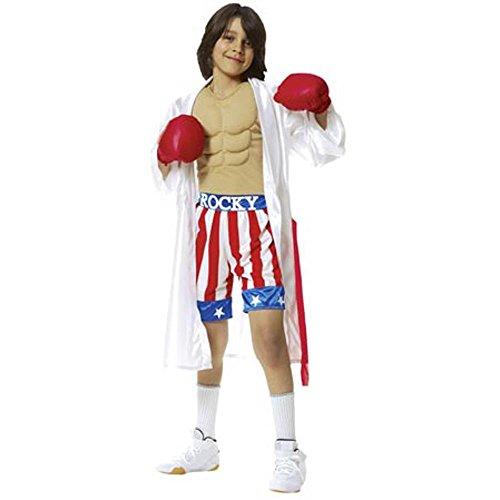 Childs Rocky Movie Costume Medium 8-10