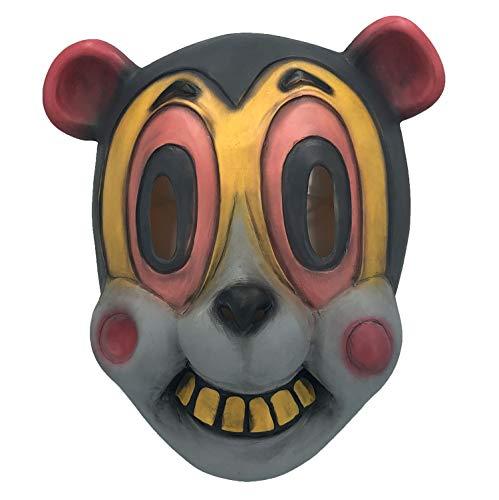Hazel Latex Mask of The Umbrella Academy Halloween Cartoonish Cat Masks Animal Helmet Movies Costume Props