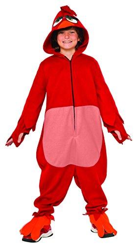 Rubies Costume Kids Angry Birds Movie Costume Red Medium