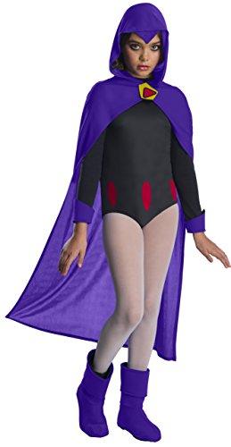 Rubies Teen Titans Go Movie Costume Deluxe Raven Medium
