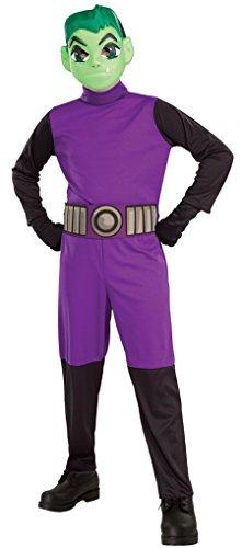 Teen Titans Go Movie Costume Beast Boy Small