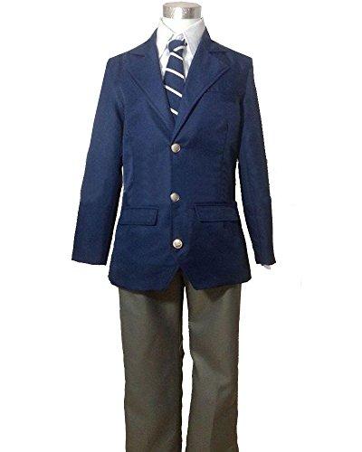 CosEnter World Trigger Boys Uniform Cosplay Costume