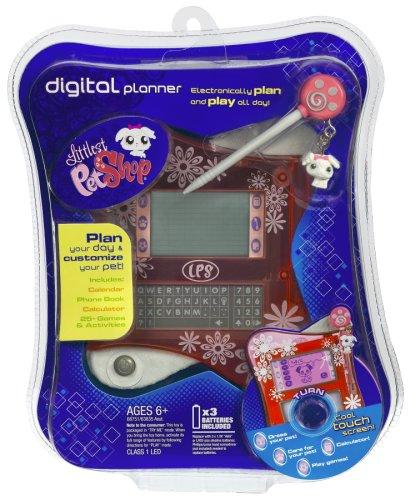 Littlest Pet Shop Digital Electronic Interactive Organizer Pink