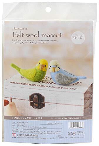 Hamanaka Felt Wool Mascot Wool Felt Kit Budgerigar Designed By Fujita Satomi