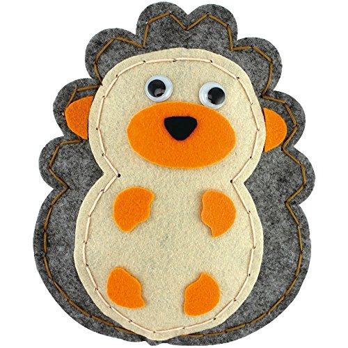 Kyo Art Kits Lovely Felt Hedgehog Kit