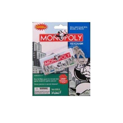 Hasbro Monopoly Game Keychain