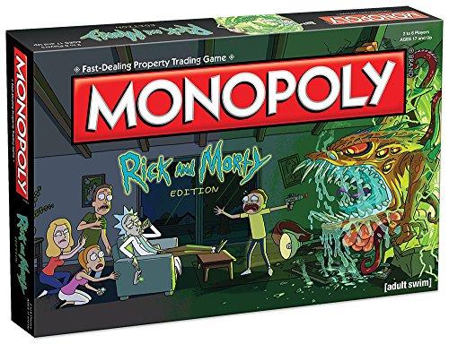 Monopoly Rick Morty Board Game