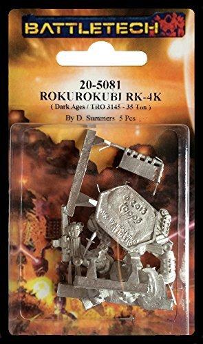 Rokurokubi RK-4K Mech BattleTech Miniatures
