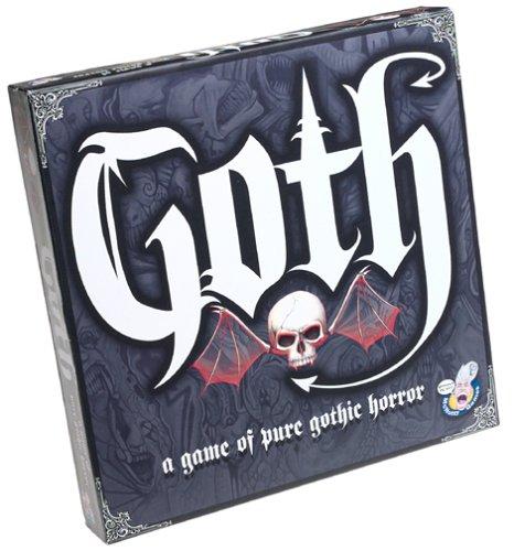 McNutty Games Goth Trivia Board Game
