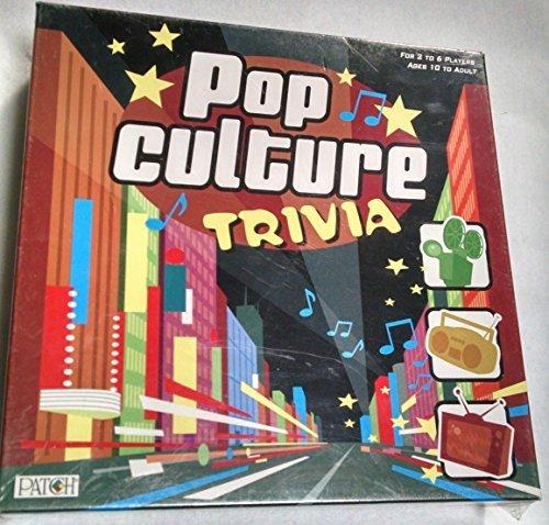 Pop Culture Trivia Board Game 2007 Patch