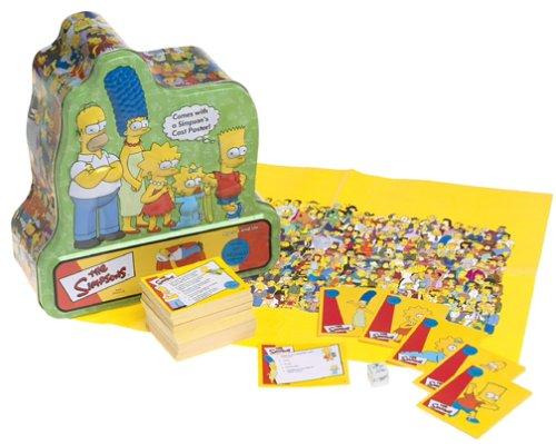 Simpsons Trivia Game II Board Game