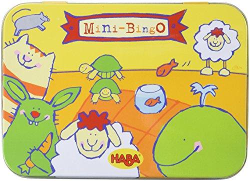 HABA Mini-Bingo Card Game Board Game