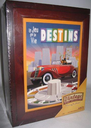 Le Jeu de la vie Destins Vintage Board Game French Edition The Game of Life