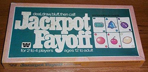 Qiyun Vintage Board Game Whitman SEALED Jackpot Payoff Gambling Role Play 1979 RARE