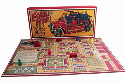 Fire Fire Retro Board Game