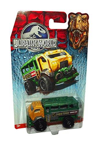 Matchbox Jurassic World Travel Tracker Die Cast Toy Vehicle