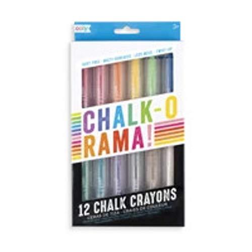 OOLY Chalk-O-Rama Set of 12 Chalk Crayons