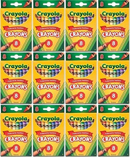 Bulk Buy Crayola Crayons 8Pkg 52-3008 12-Pack