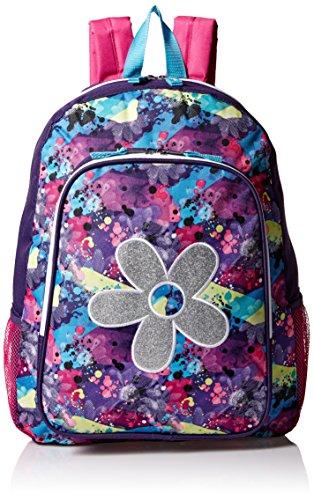 Trailmaker Big Girls Flower Applique Backpack Pink One Size