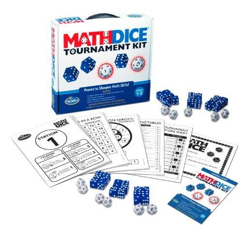 Think Fun Math Dice Tournament Kit by Think Fun