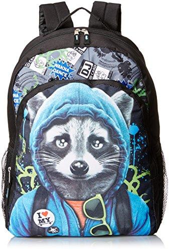 Skr Club Boys Boys Fashion Backpack Photoreal Raccoon Multi One Size