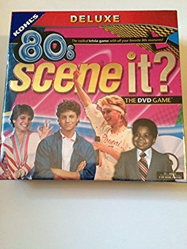 80S Scene It The Deluxe DVD Trivia Game