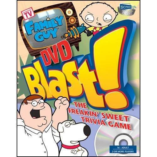 Family Guy Blast DVD Trivia Game