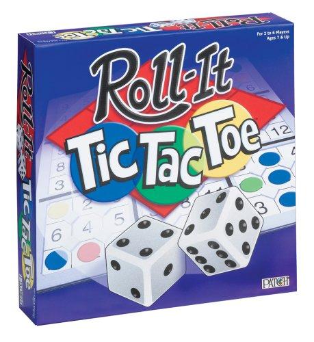 Roll-It Tic-Tac-Toe Board Game