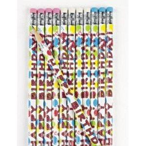 Fun Express Wooden Happy Birthday Pencils 24 Piece
