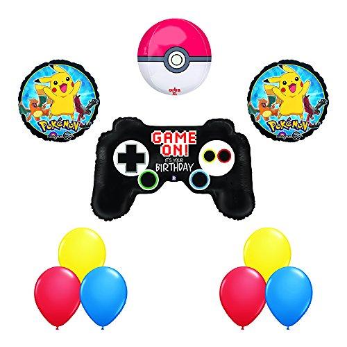 Pokemon ORBZ XL Poke Ball POKEMON GO Game Controller Birthday Party Balloons Decoration Supplies