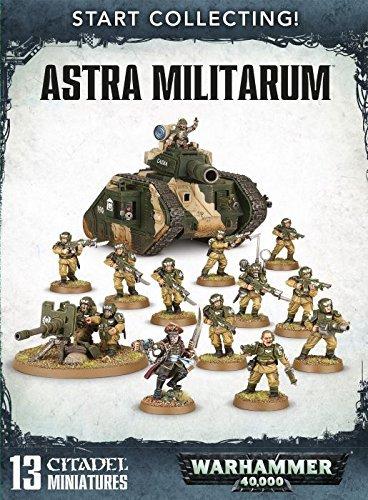 warhammer 40000 Astra Militarum start collecting by Games Workshop