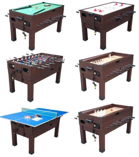 13 in 1 Combination Game Table in Espresso By Berner Billiards