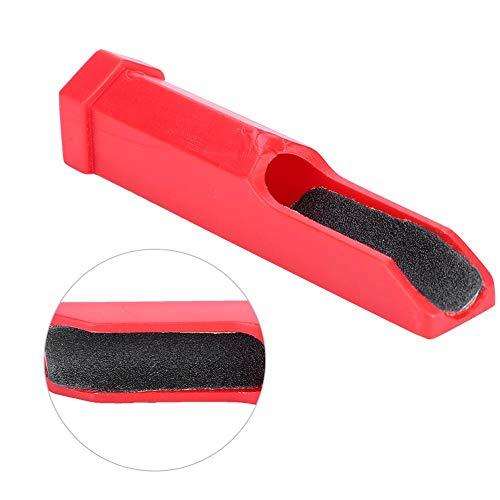 Dioche Cue Tip Tapper Mini Portable Pool Cue Trimmer Repair Tool Billiard Stick Tips Grinding Accessory