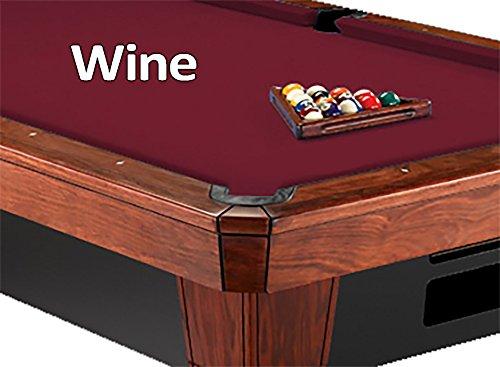 8 Oversized Simonis 860 Wine Billiard Pool Table Cloth Felt