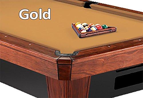 9 Simonis 860 Gold Pool Table Cloth Felt