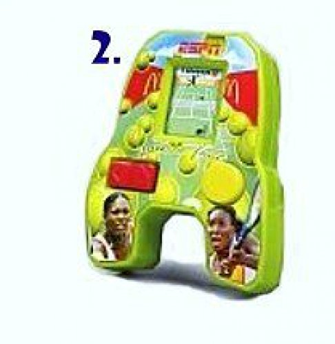 McDonalds Happy Meal ESPN Best of Sports Handheld Electronic Game Serena Venus Williams Tennis Game 2