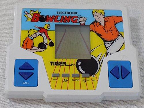 1987 Tiger Electronic Bowling Game Handheld LCD Game