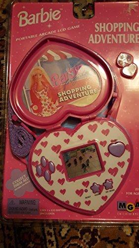 Barbie Handheld LCD Game Shopping Adventure