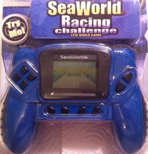 Sea World Racing Challenge Handheld LCD Game