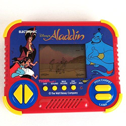 Vintage ALADDIN ELECTRONIC HANDHELD LCD Game 1990