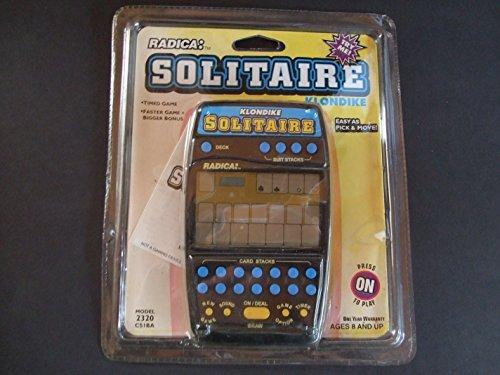 2-in1 Klondike Solitaire Handheld Game Radica 2320