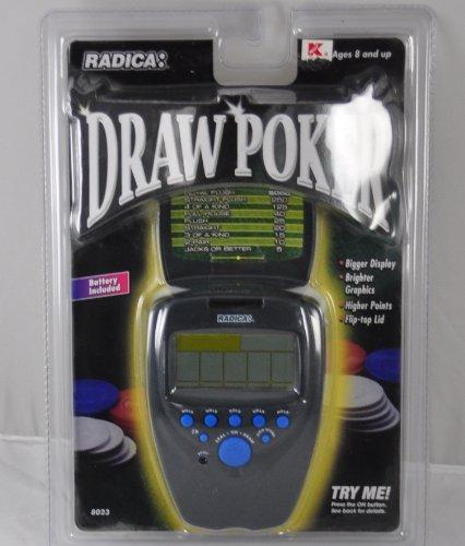 Radica Draw Poker Electronic Handheld Game