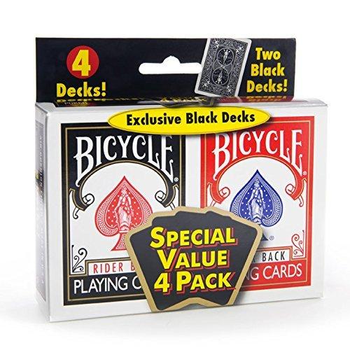 Bicycle Standard Index  BlackRed by Bicycle